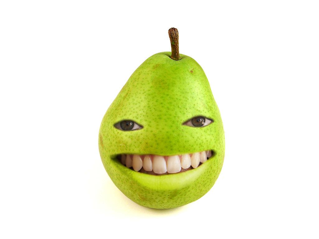The Annoying Orange- Pear Project | Photo Edit by ...
