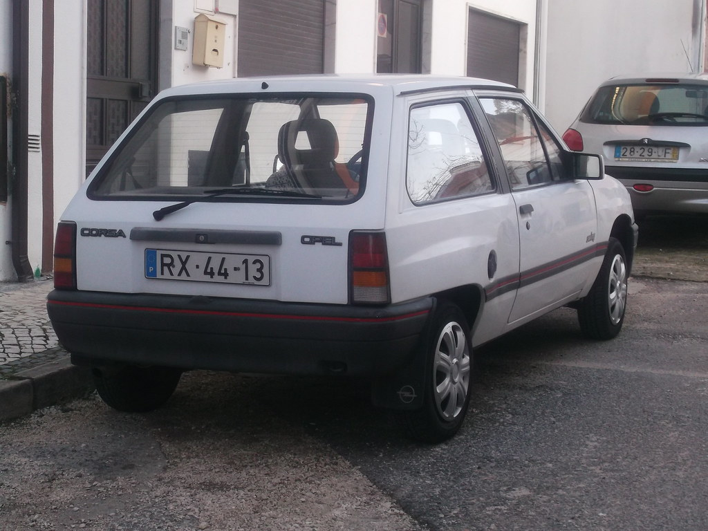 1991 Opel Corsa А 1/4 mile Drag Racing timeslip specs 0-60 ...