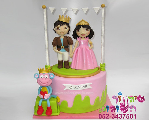 Dora Cake Recipe In English: Dora And Diego Cake By Cakes-mania עוגת דורה ודייגו -האגדה