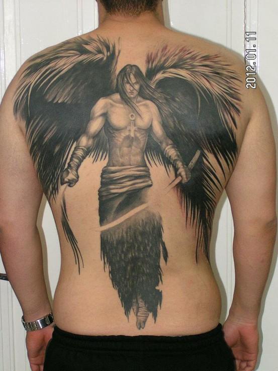 Conhecido Tatuagem-Anjo-Guerreiro | Assis Gabriel Greselle | Flickr ER77