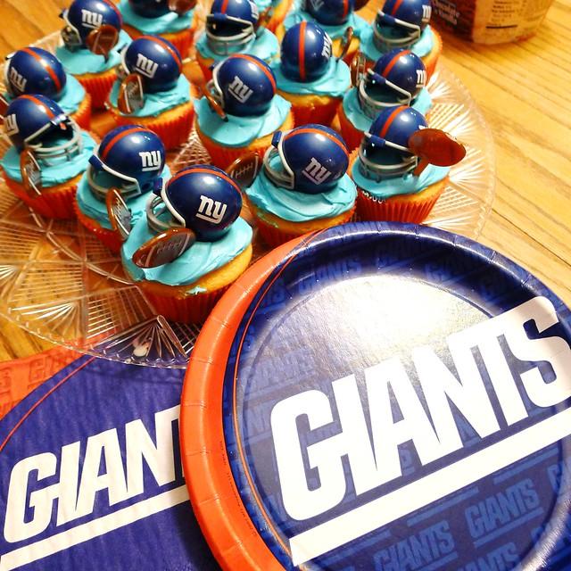 Ny Giants Cake Decorations