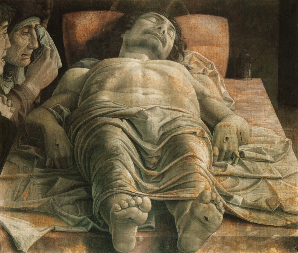 andrea mantegna der tote christus dead christ