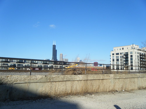 Willis Tower across the tracks | by Preetha & James