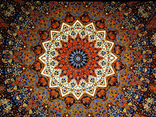 Mandala Dot Painting Canvas