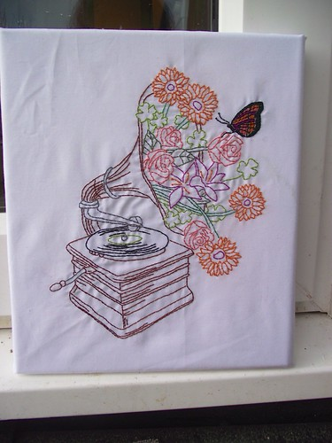 Floral gramophone pattern from urban threads for Thread pool design pattern