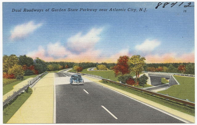 Dual Roadways Of Garden State Parkway Near Atlantic City N J Flickr Photo Sharing