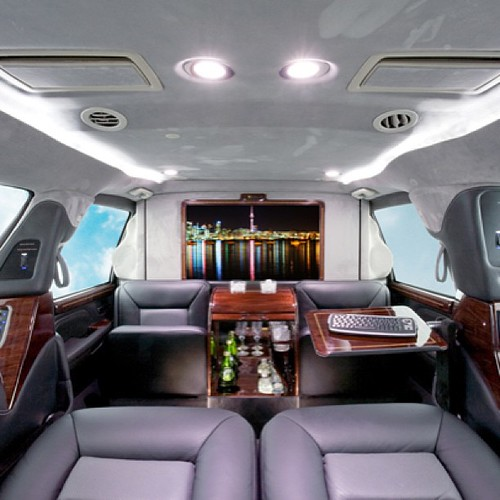 Armored Cadillac Escalade ESV with our CEO luxury interior ...