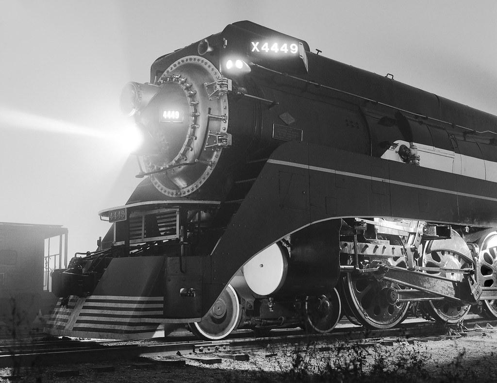 American Freedom Train steam locomotive # X4449, Southern ...