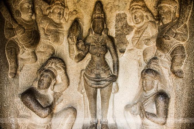 Image result for frescos of durga