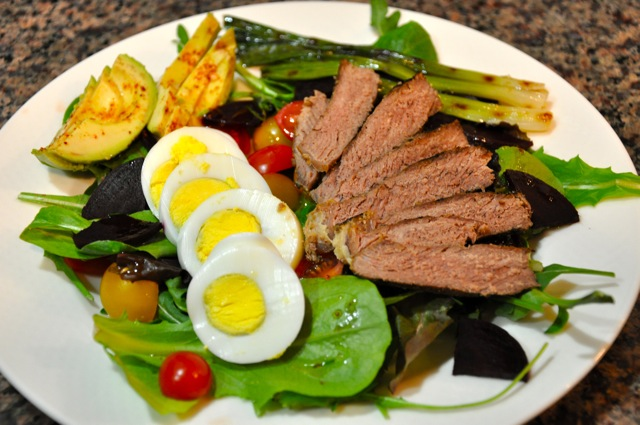 Steak-salad-2 | realhealthyrecipes.com/2013/03/06/the-worlds ...