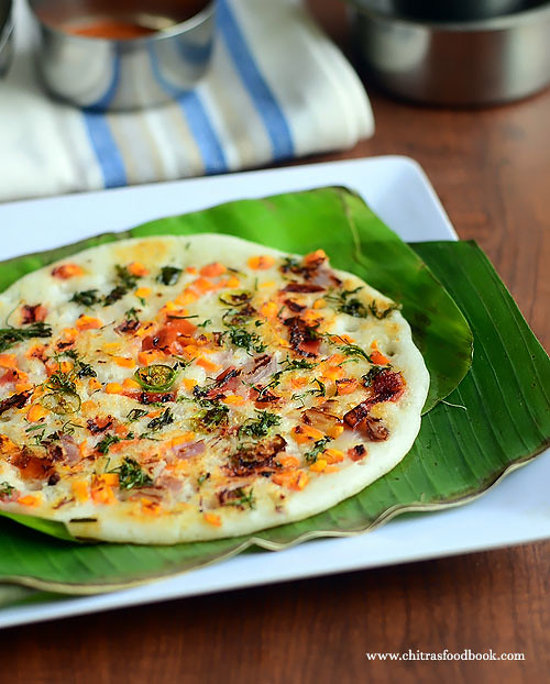 Vegetable uttapam recipe
