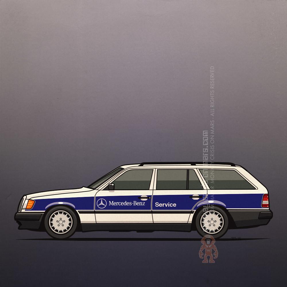 Mercedes Benz W124 Turbo Diesel Roadside Assistance Servic