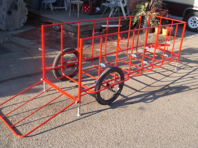 Arborist Bicycle Trailer 8 Long 30 Quot Wide 30 Quot Tall It