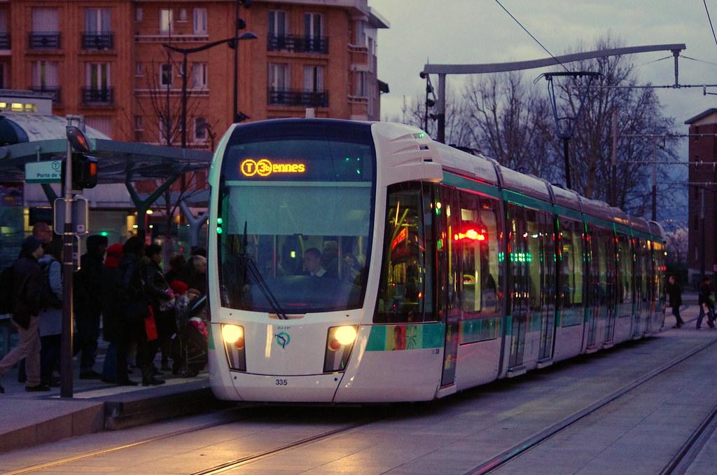 Paris f vrier 2013 le tram t3b porte des lilas 7 flickr - Tramway porte des lilas ...