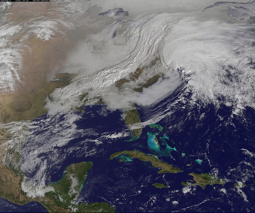 Powerful U.S. Winter Nor'easter Coming Together | by NASA Goddard Photo and Video