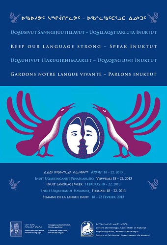 Inuit Language Week February 18-22, 2013