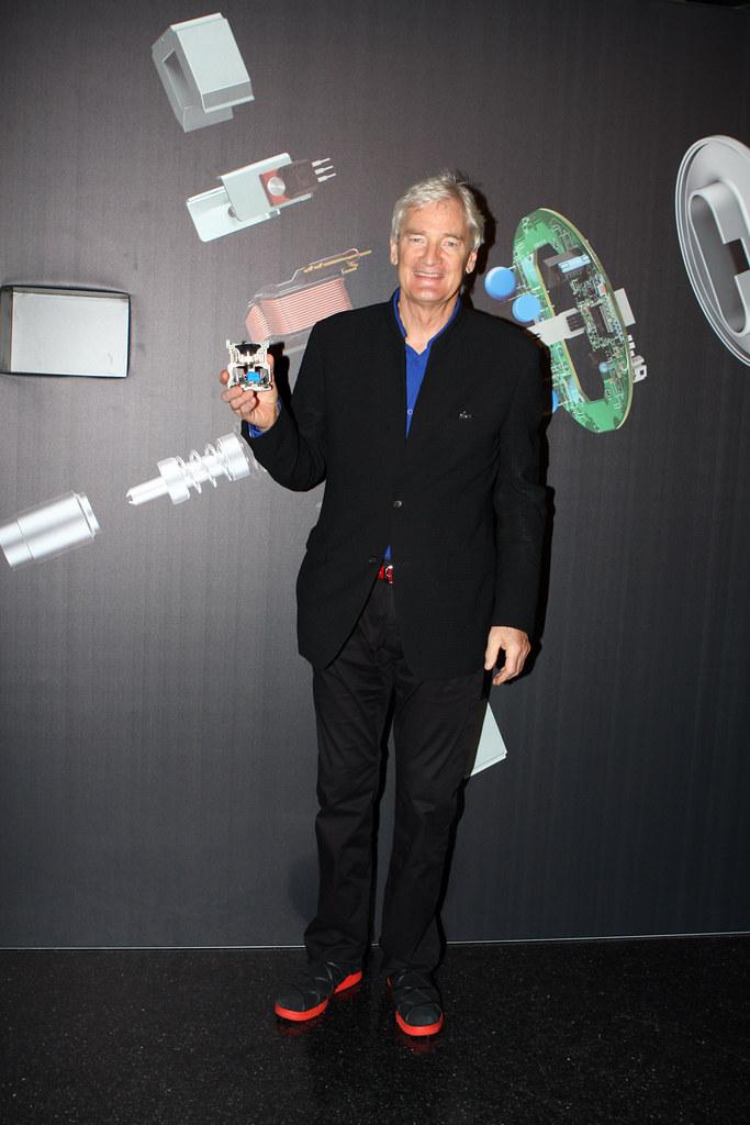 James Dyson Sir James Dyson Puts On Dyson Product Launch