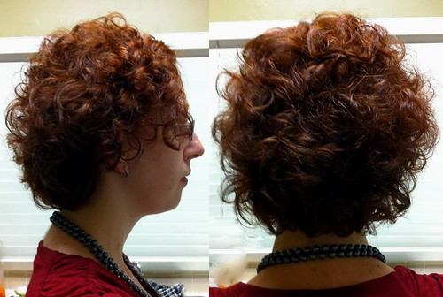 short-curly-cut-and-copper-hair-colour | by vanmobilehair