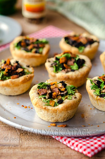 Mini Veggie Pizza Pies | by Yack_Attack
