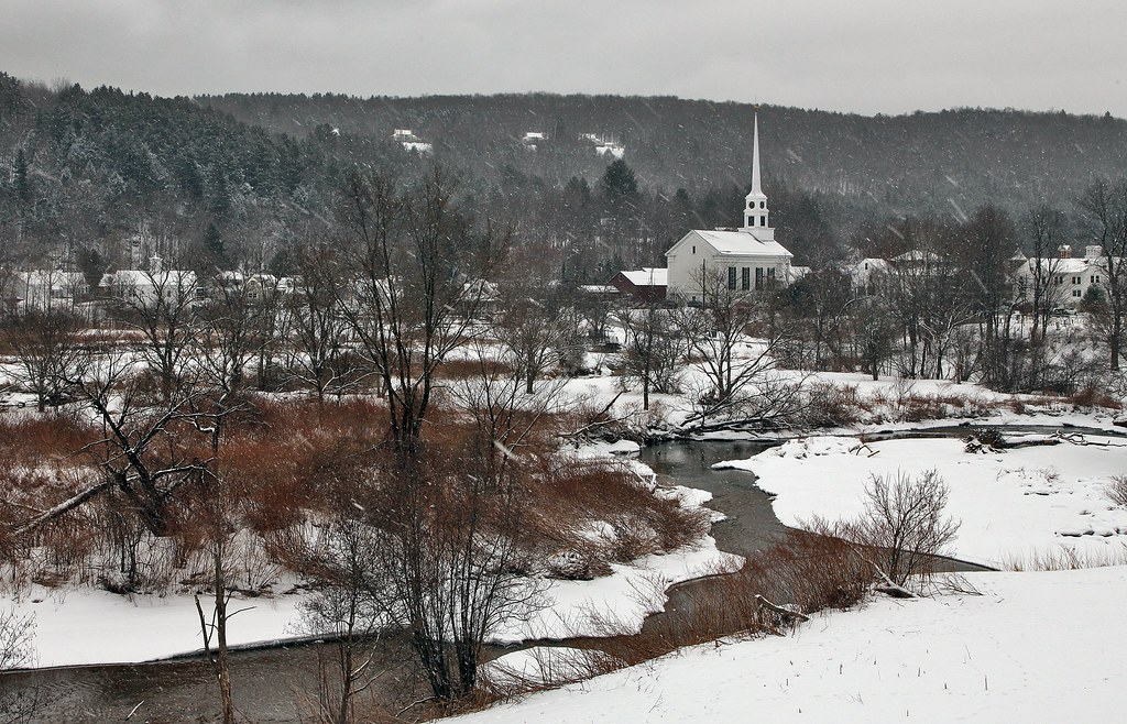 stowe romantic small towns