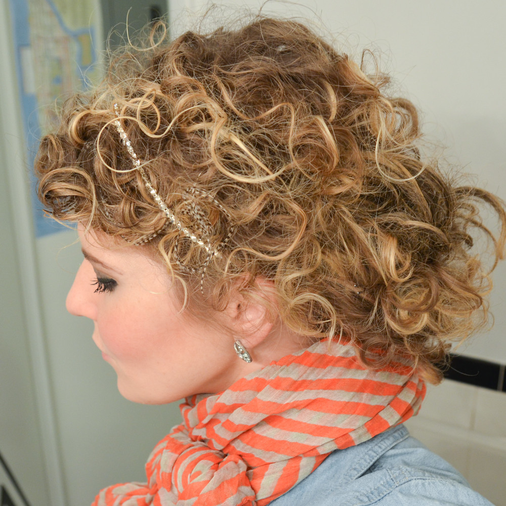 How To Style Curly Hair See How To Style Curly Hair And Mo Flickr