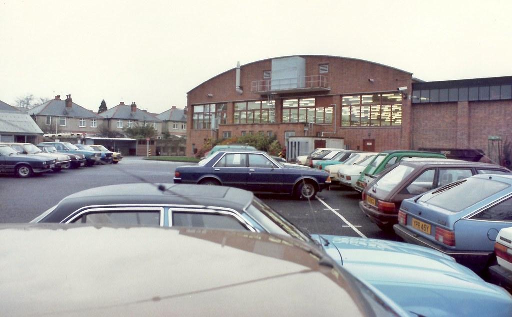 Bat gr dc southampton uk car park 1983 b a t gr dc Southampton motor cars