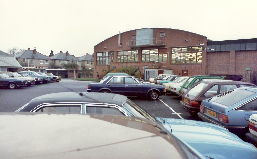 Bat Gr Amp Dc Southampton Uk Car Park 1983 B A T Gr Amp Dc