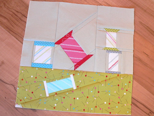"March Block for ""And Sew On..."" BoM 