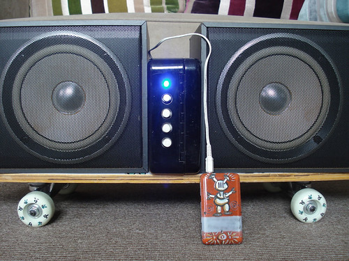 Boombox with J-Pod | by Jim Davies