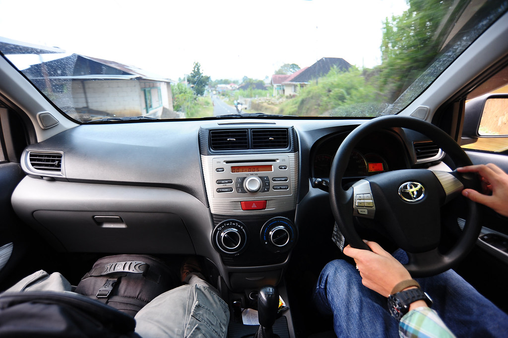View From Inside Toyota Avanza