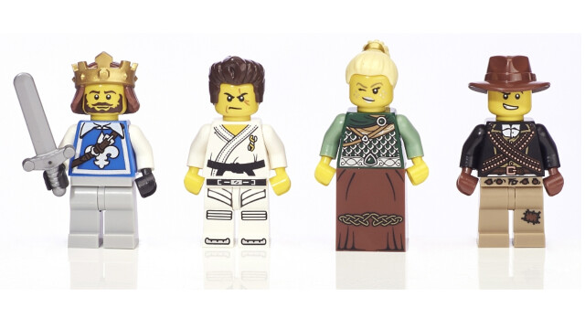 LEGO Minifigure Collection Toys R Us - Warriors minifigs