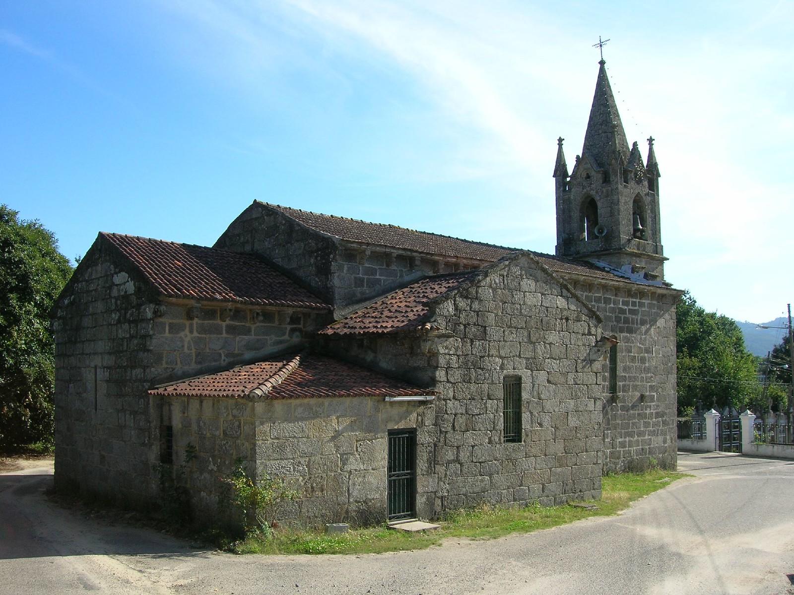 Igrexa de San Pedro de Angoares, Ponteareas