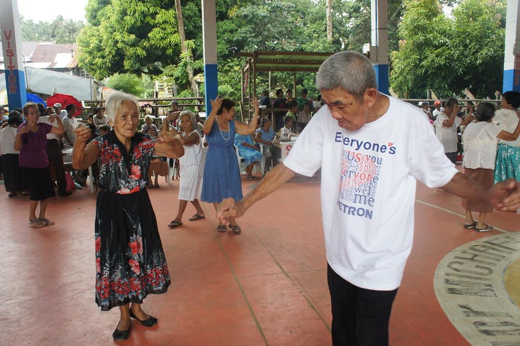 Happy Seniors Of Bulusan