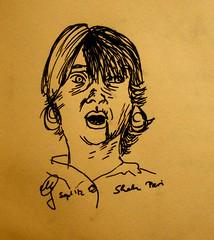 Portrait Shah Pari by Sketchmanni