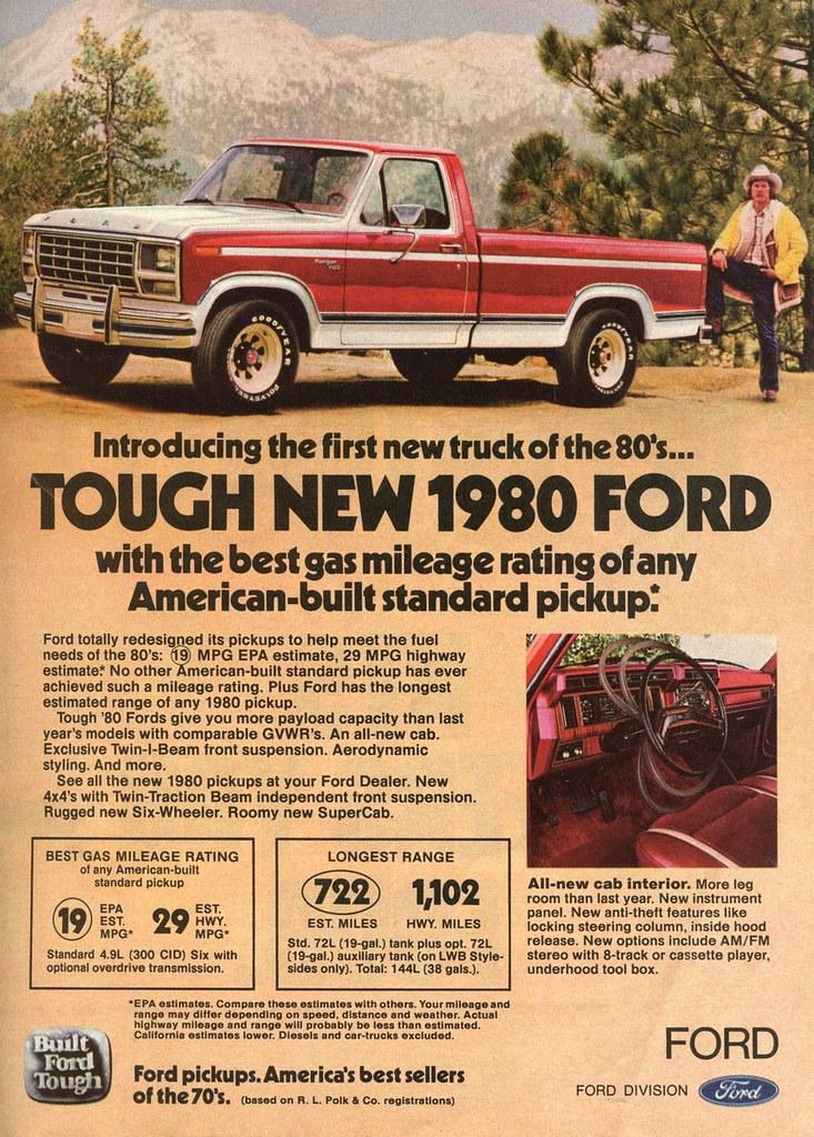1980 Ford F150 Ranger Truck Ad In Popular Mechanics Febr