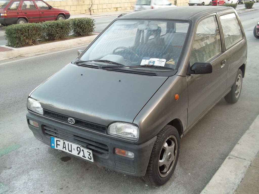 small subaru vivio rex m70 i 39 ve forgotten what model this flickr. Black Bedroom Furniture Sets. Home Design Ideas