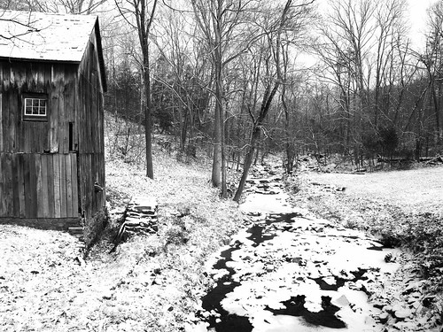 Fresh Snow at the Old Mill | by law_kid