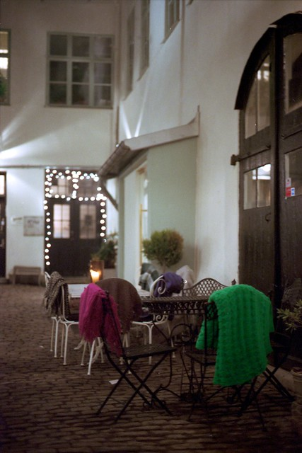 Winter Blankets Outside A Wine Bar Flickr Photo Sharing