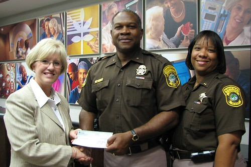 Project Lifesaver Donation | by Sheriff Gabe Morgan