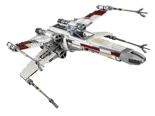 LEGO Star Wars 10240 Red Five X-wing Starfighter 4 | by Groove Bricks