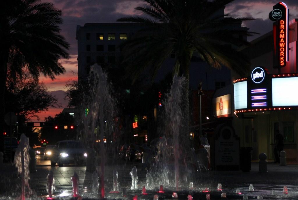 20130131_26 USA FL West Palm Beach Clematis by Night   Flickr