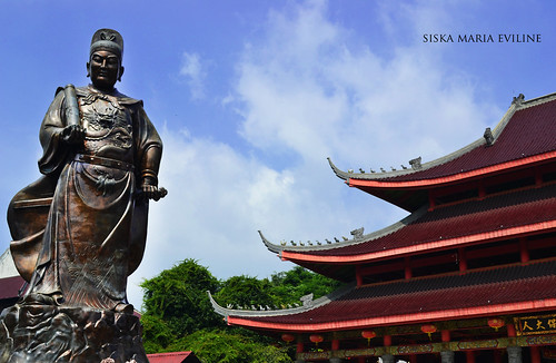 Cheng He Statue at Sam Poo Kong Temple | by siska maria eviline