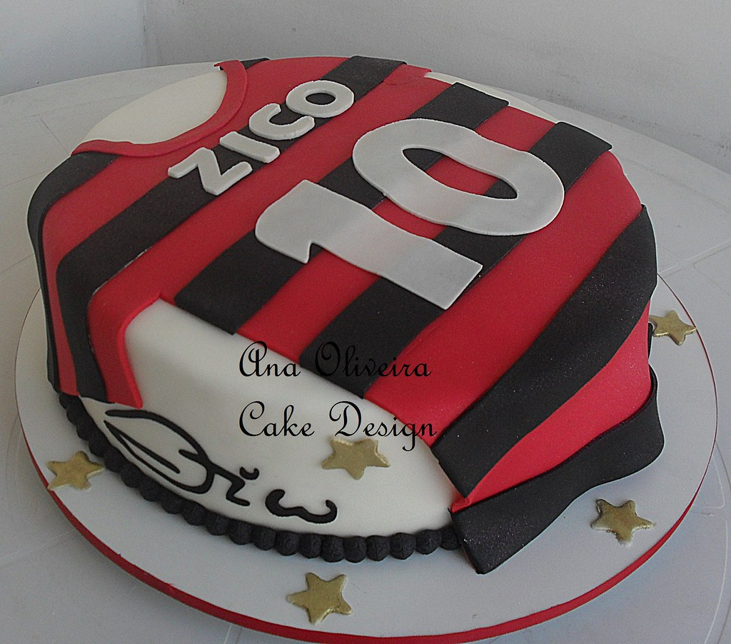 Bolo Do Flamengo Feito Para Comemora 231 227 O Dos 60 Anos Do 236 Do