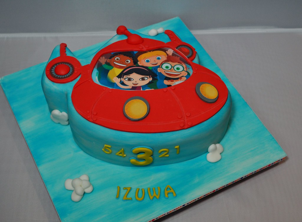 Little Einsteins Cake Pan