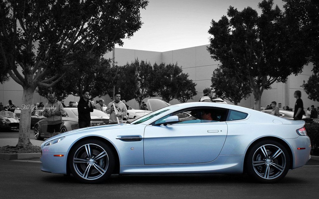 Aston Martin V8 Vantage, Cars and Coffee, Irvine | Power, Be… | Flickr