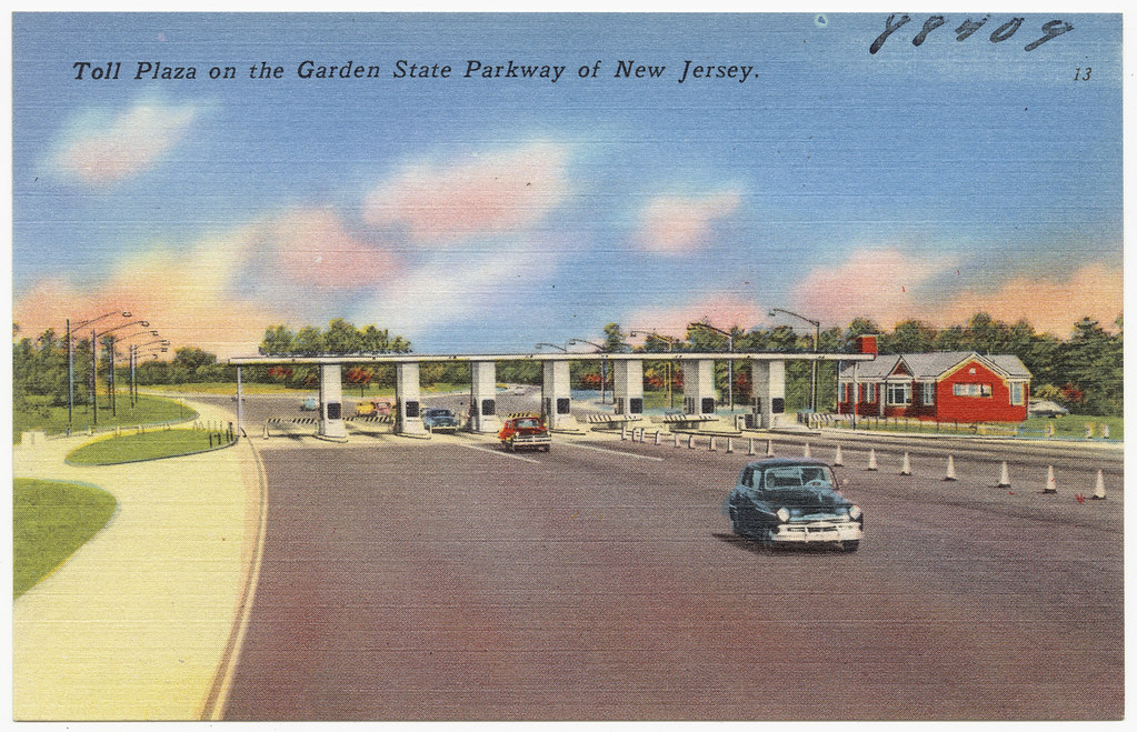 Toll Plaza On The Garden State Parkway Of New Jersey Flickr