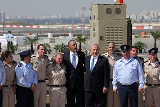 President Obama and PM Netanyahu Visit Iron Dome Site | by Facts for a Better Future