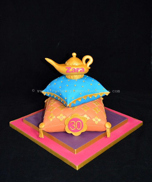 Arabian themed cake flickr photo sharing for Arabian cake decoration