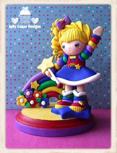 Rainbow Brite Cake Topper
