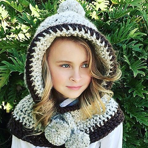 The Penelope Hooded Cowl Crochet Pattern Is Now Availa Flickr